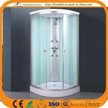 Weiß lackiertes Glas Duschraum (ADL-8705)