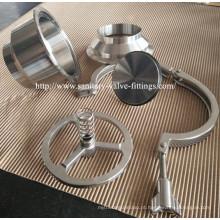 304 / 316L Válvula de retenção sanitária não retornada de aço inoxidável