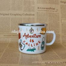 Emaille Drinkware Shaker kleine Joyshaker Tasse / Emaille Milchglas