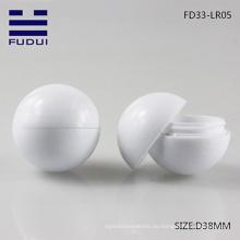 Heißer Verkauf! Kundenspezifische neue Artplastik-Tennisballform-Lippenbalsam-Schlauch für Großverkauf