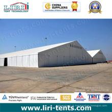 Grandes estruturas de alumínio para barracas de armazém temporárias 30-50m