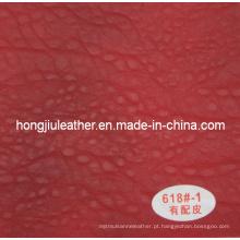 Couro de alta classe estilo europeu sofá (Hongjiu-618 #)
