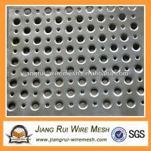 6mm dicke verzinkte Stahlblechfertigung