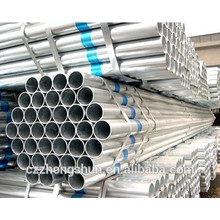 China hot galvanized steel pipe /galvanized seamless pipe/ERW galvanized pipe/BS1387-1985/Q235/SS400