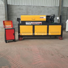 CNC steel bar straightener without error