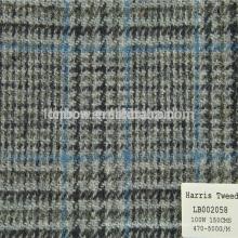 Marca británica de confianza de la tela de la chaqueta del proveedor chino de los hombres