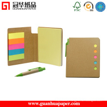 Note Pad with Sticky Notes and Pen