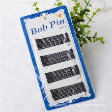 6,2 cm Karte Verpackt Black Metal Ballspitze Bob Pins (JE1037)