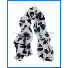 La dernière veste imprimée léopard imprimée
