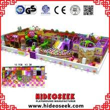 Candy Theme Jardín de Infancia Playground Equipment