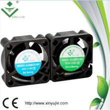 25mm Mini Petit Imperméable IP67 25 * 25 * 10mm Voiture Lumière Micro DC Fan