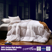 Amazon Hot Sale High Quality Soft Bedding Inner Feather Goose Down Quilt