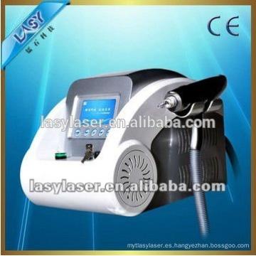 Eliminación del tatto del laser del nd yag q-switched