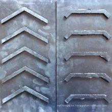 Cinturones de goma de Chevron con anchos de las costillas 2000mm