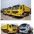 6X4 35tons Right Hand Drive HOWO Dump Truck