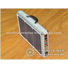 15W Kleiner tragbarer Solargenerator