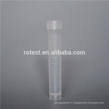 Consommables de laboratoire tubes cryogéniques en plastique stérilisés