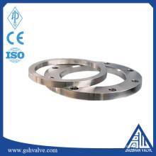 Bride de soudure plate ASM a694 f65 en acier au carbone