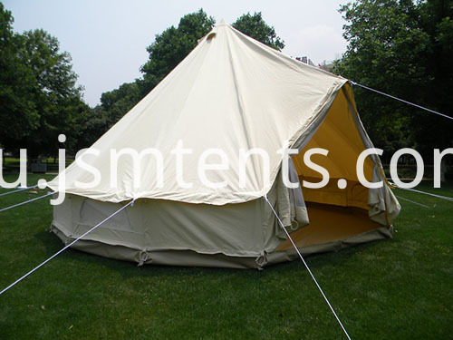 Deluxe Bell Tent with heavy duty integral groundsheet
