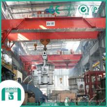 Grúa de fundición puente Qdy serie 2016 16 / 3.2-50 / 10 Ton-10.5-31.5m