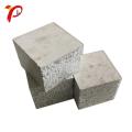 Panel de sándwich de cemento Eps de espuma prefabricada a prueba de fuego de la pared exterior ligera