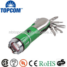3W High Power zoom plastic torch light tool set