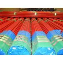 Tubo de acero pintado rojo de la lucha contra el fuego de UL