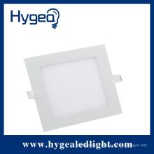 4W alto brilho plana levou luz do painel quadrado