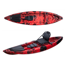 LSF Factory New Design 1 paddler single seat sit on top kayak with accessories
