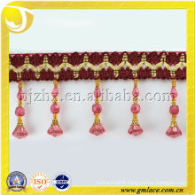 cushions tassel fringe trimming beaded crystal acrylic curtain