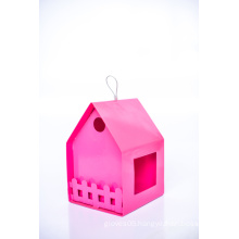 Pink House Design Birder Feeder