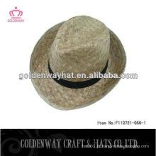 Chapéus de agricultor de palha Chapéu de palha de natureza Chapéus de golfe de palha