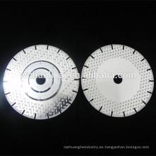 cuchillas de diamante turbo de corte de hormigón