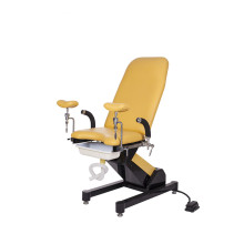 Female electronic control obstetric beds