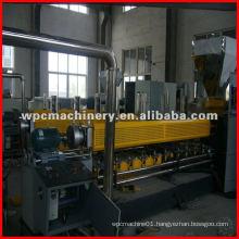 WPC (PE/PP with wood fiber) granulator
