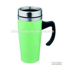 16OZ Doppelwand SS Travel Mug, Plastikbecher, Thermobecher, Kaffeebecher