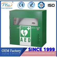 Gabinete del desfibrilador médico de la salud de Hsinda-Cabinet China para AED