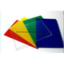 Placa de acrílico placa de plexiglas de placa de PMMA