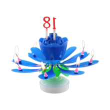 Billiga Wax Wholesale Happy Musical Flower Candle