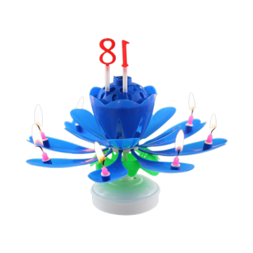 Goedkope Wax Wholesale Happy Musical Flower Candle