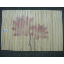 (BC-M1035) Handmade Natural Bamboo Rectangle Heat Insulation Placemat
