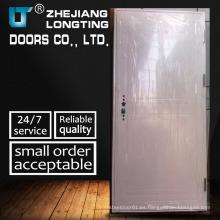 Puertas de seguridad de acero de una hoja de entrada de alta calidad residenciales