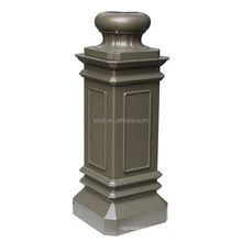 aluminum casting manufacture supply sand casting lighting pole as drawings