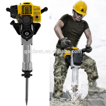 1900w 2.5HP 52cc Mini Gas Powerd Gasoline Jack Hammer Drilling Machine Portable Petrol Hammer Drill