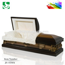 trade assurance supplier reasonable price metal casket JS-ST054