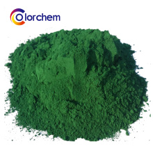 Óxido de ferro verde Fe2O3 pigmento em pó