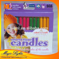 Factory professional making birthday candles