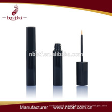 cosmetic plastic black square shape eyeliner tube