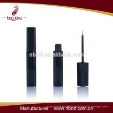 Tubo de eyeliner da forma quadrada preta do plástico dos cosméticos