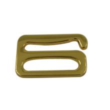 Donguan Supplier Gold Metal Abra la hebilla del cinturón para el traje de baño